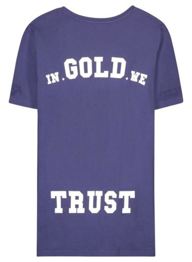 In Gold We Trust - Kids Basic Tee Eclipse