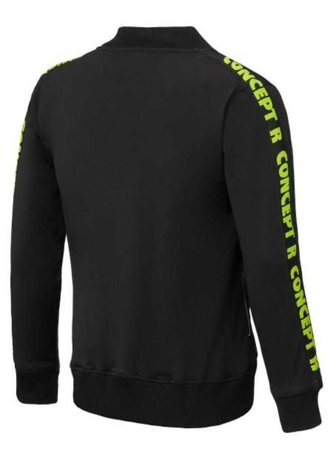 Concept R - Track Jacket Taped Black Fluor