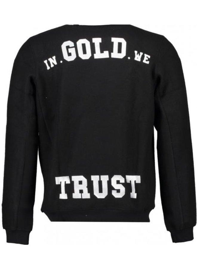 In Gold We Trust - KIDS The La Soul Sweater Black