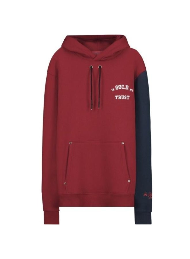 In Gold We Trust - KIDS The 4:44 Hoodie Red Blue
