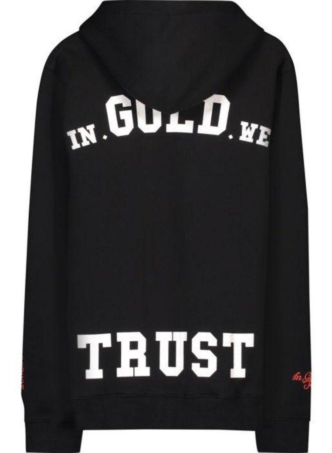 In Gold We Trust KIDS - IGWT Hoodie Black