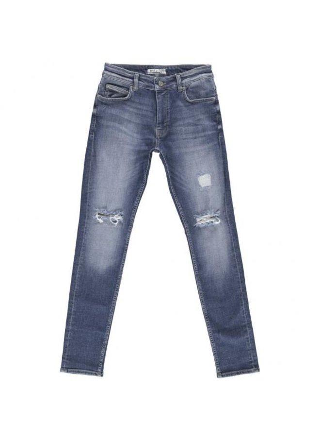 Just Junkies - Max Walk Blue Holes Jeans