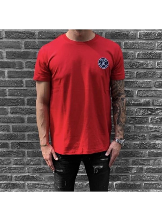 Concept R - Brand Tee Red Regular Fit