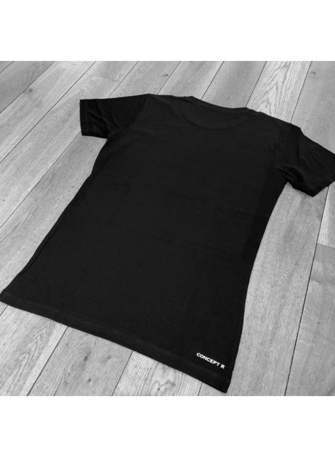 Concept R Brand T-Shirt Black/White