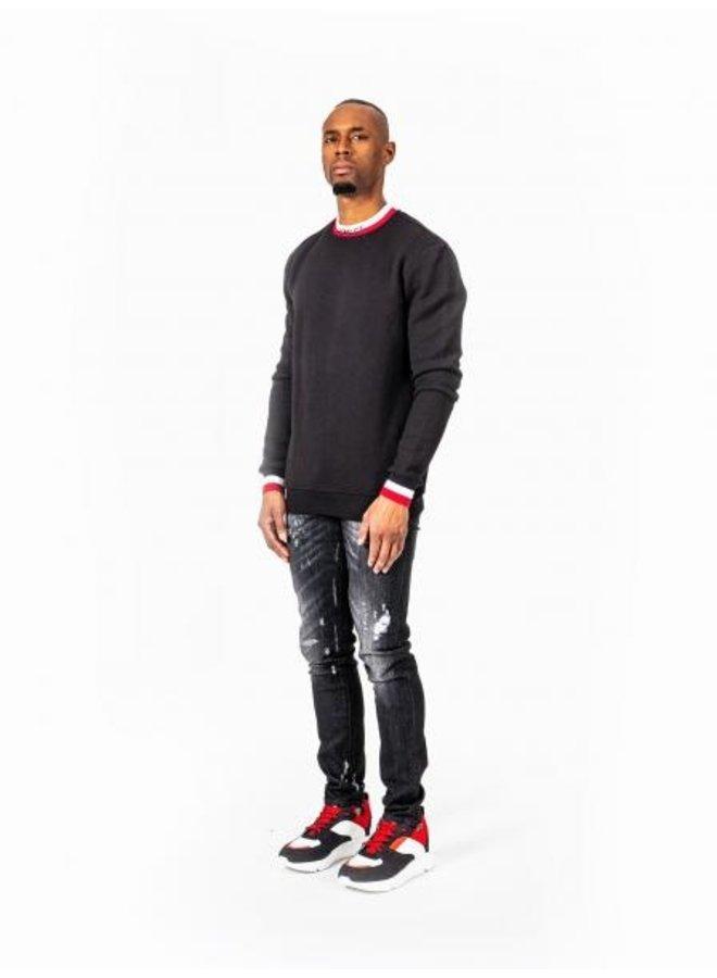 Explicit - Ami Sweater Black