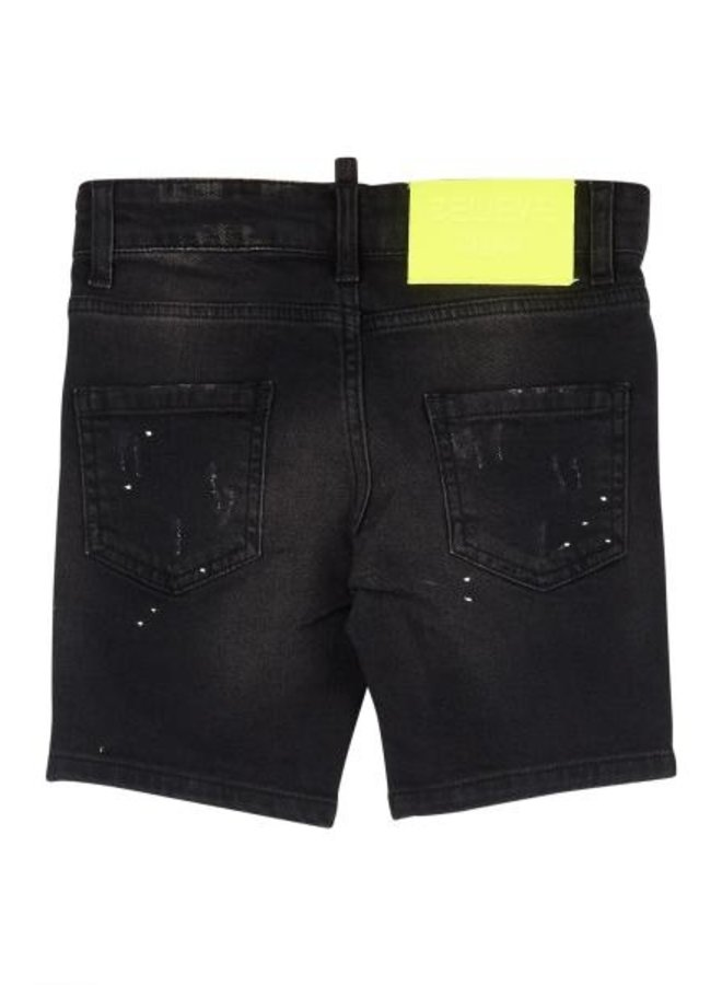 Believe That Kids - Neon Shorts Black