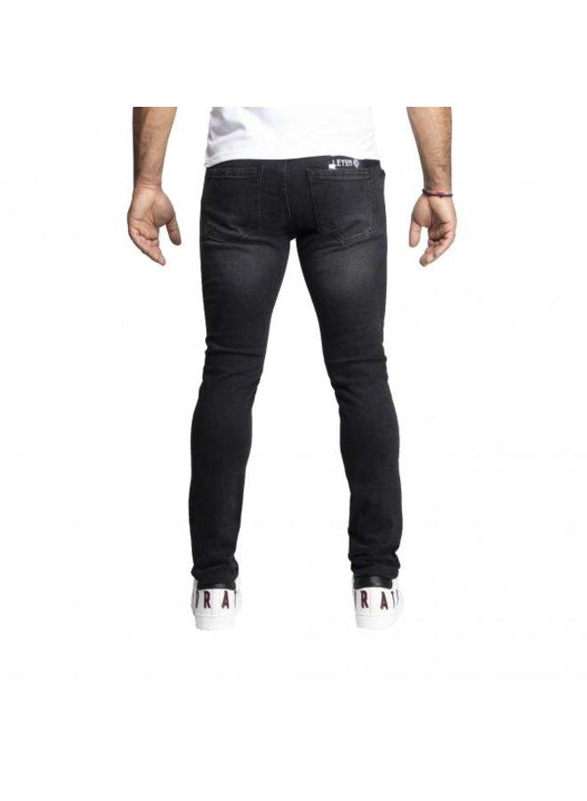 Leyon - Denim Jeans Black
