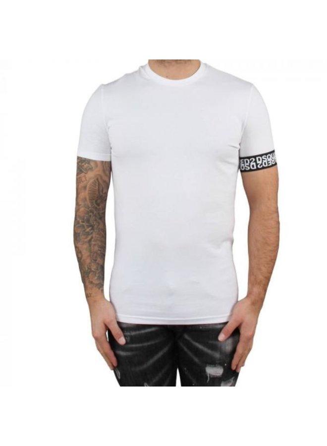 Dsquared 2 - Round Neck Band T-Shirt White