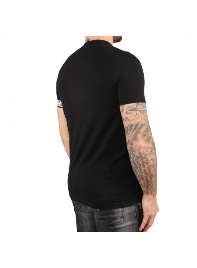 Dsquared 2 - Round Neck Band T-Shirt Black
