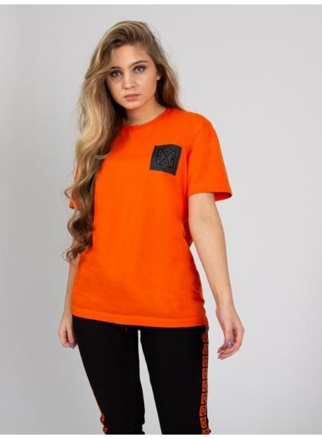 Explicit - Square Tee Orange