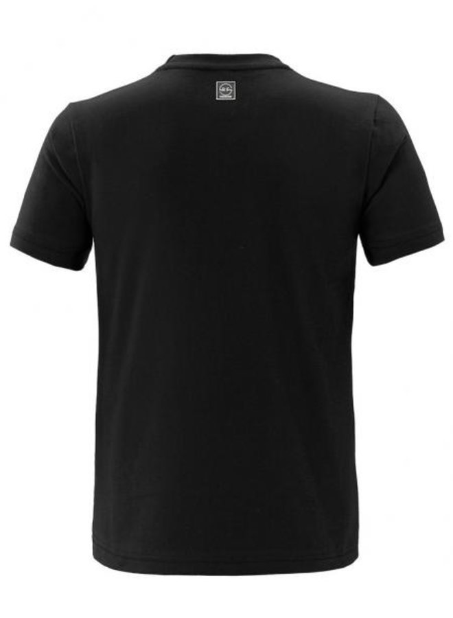 Rivero - Heartbreaker T-Shirt Colorblock Black Terry Embroidery