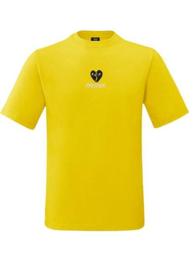 Rivero - Heartbreaker T-Shirt Yellow