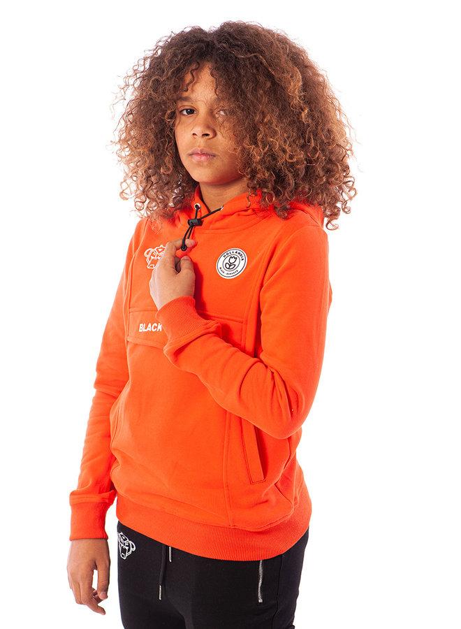 Black Bananas - Kids Anorak Hoody Neon Orange