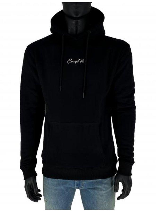 Concept R - Signature Hoodie Black