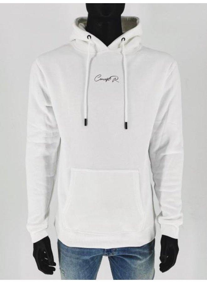 Concept R - Signature Hoodie White