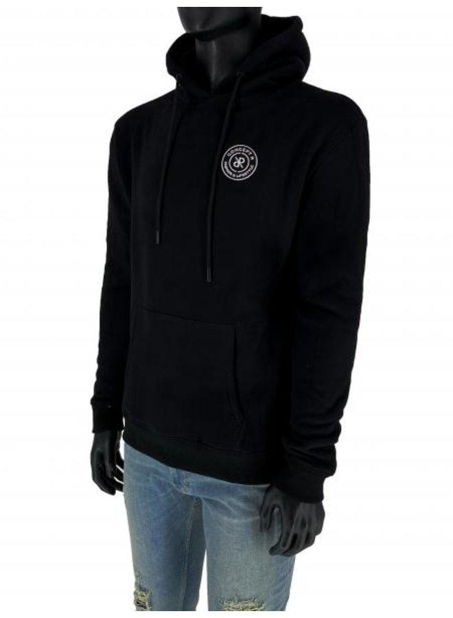 Concept R - Brand Hoodie Black