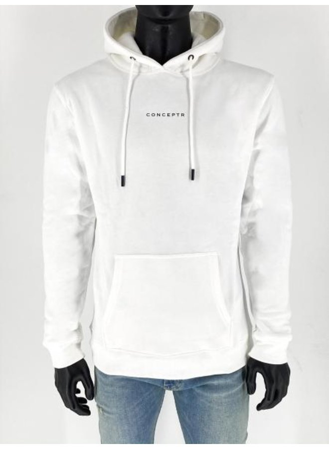 Concept R - Letters Hoodie White