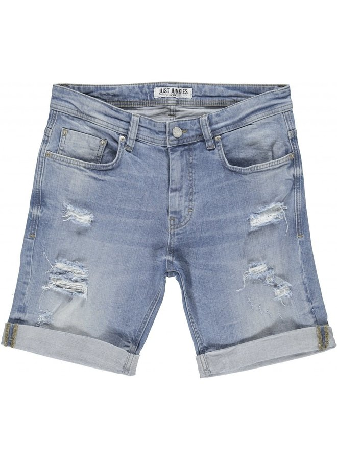 Just Junkies - Mike Shorts Oceanic Blue