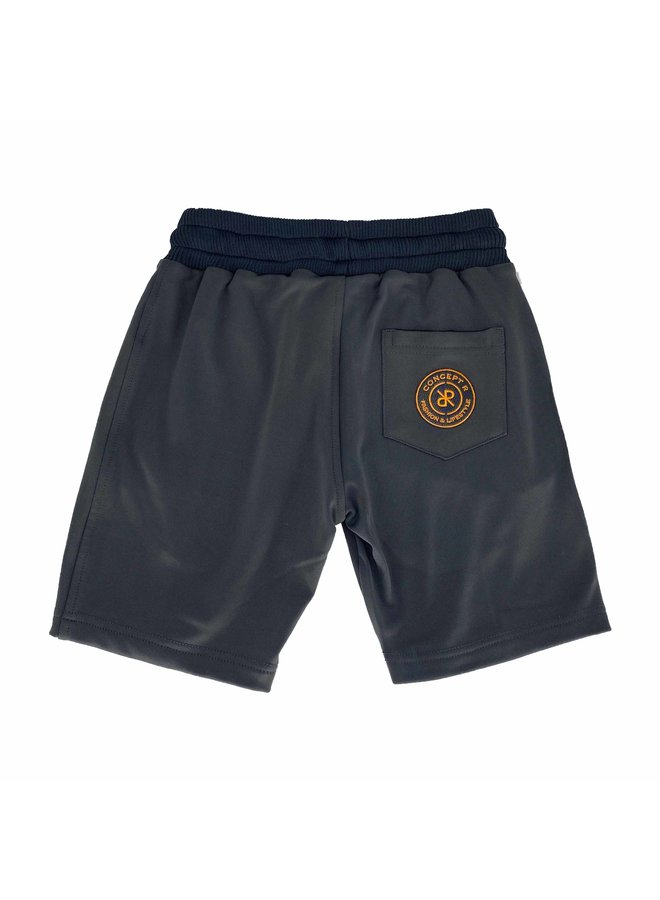 Concept R - Kids Track Short Taped Grey
