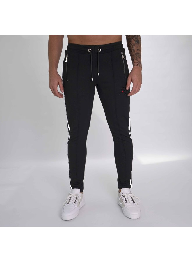 AB Lifestyle - Trackpants Black White