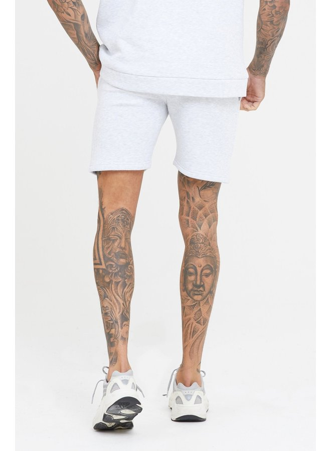 Good For Nothing - Ice Grey Marl Jersey Shorts