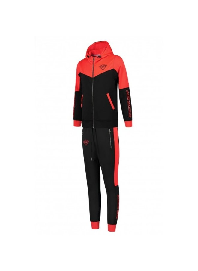 Black Bananas Kids - Club Tracksuit Red