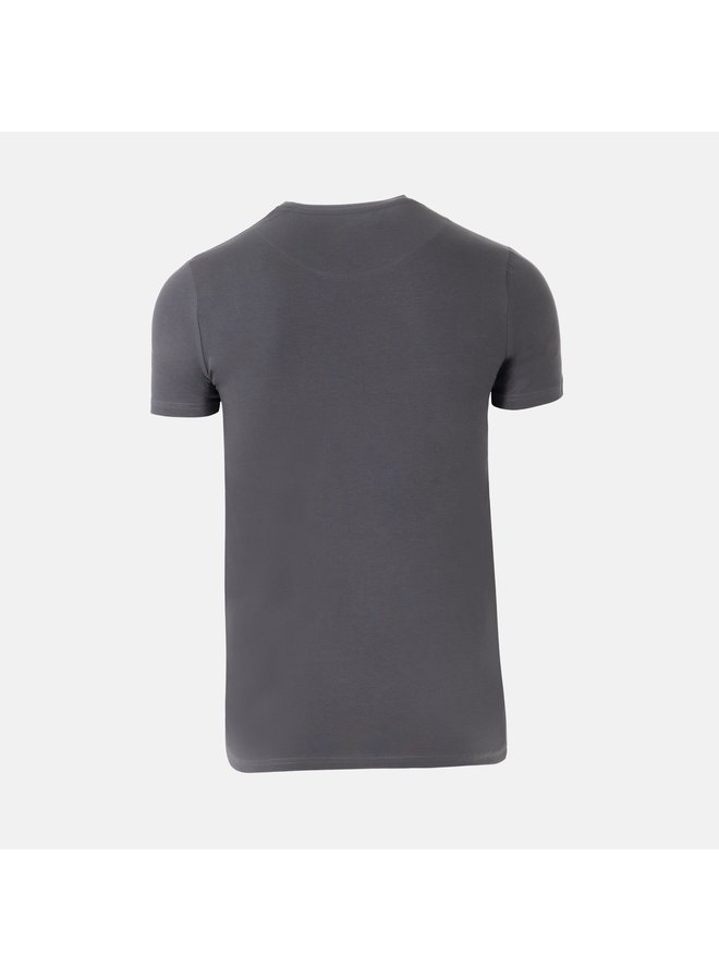 AB Lifestyle - Embroidery Tee Grey