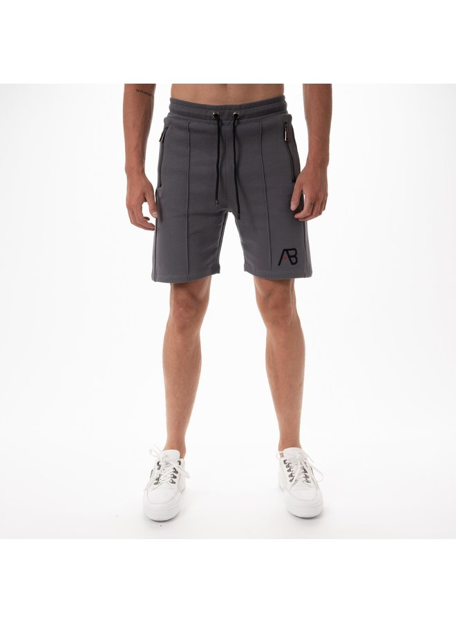 AB Lifestyle - Embroidery Short Grey