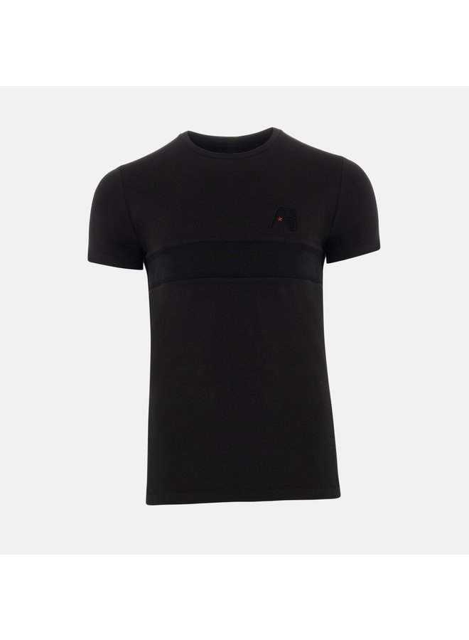 AB Lifestyle - Embroidery Shirt Black
