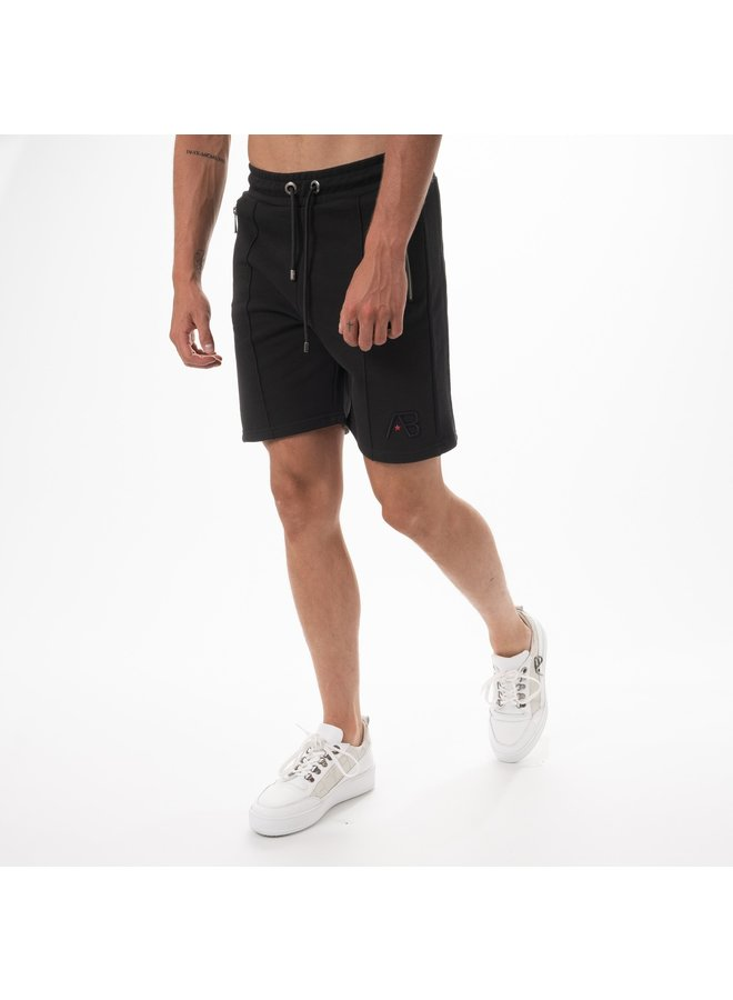 AB Lifestyle - Embroidery Short Black