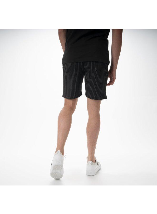AB Lifestyle - Pinstripe Short Black White