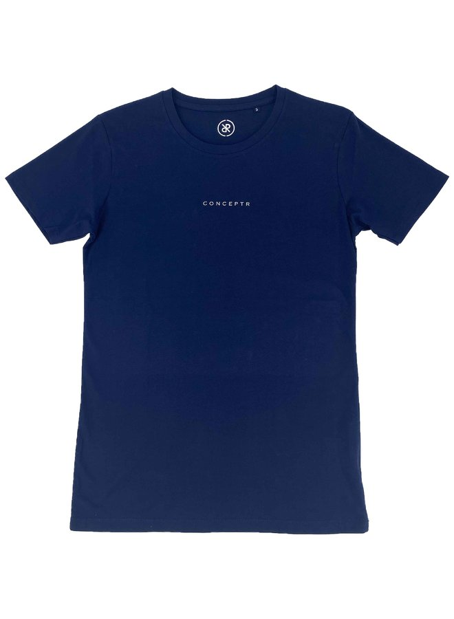Concept R - Letters Tee Navy Blue