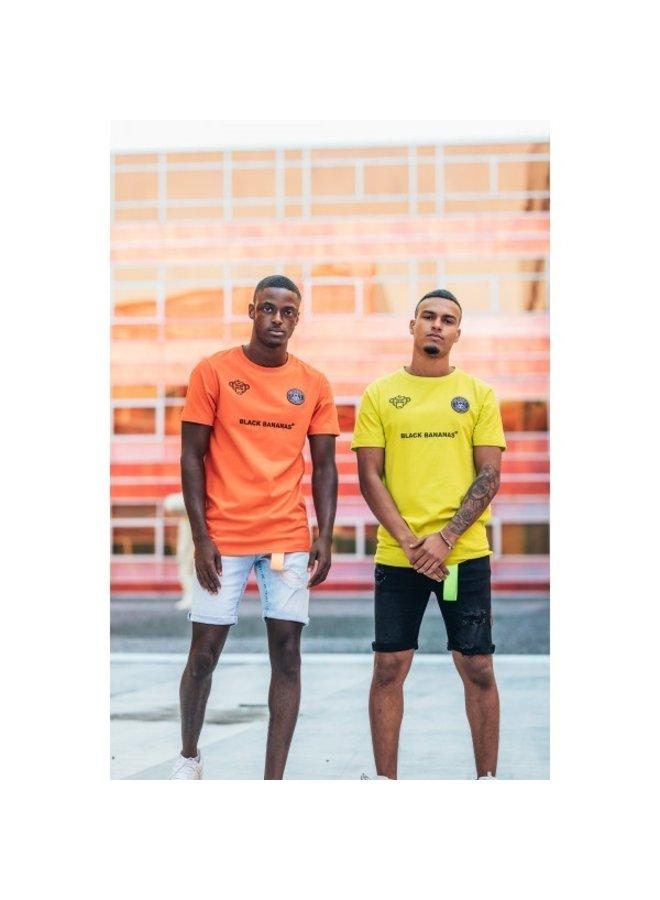 Black Bananas - F.C. Neon Tee Orange