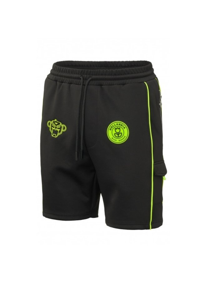 Black Bananas - F.C. Striker Short Black Neon Yellow