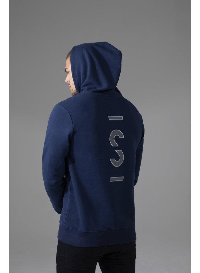 Sustain - Cybernetic Regular Hoodie Dress Blue