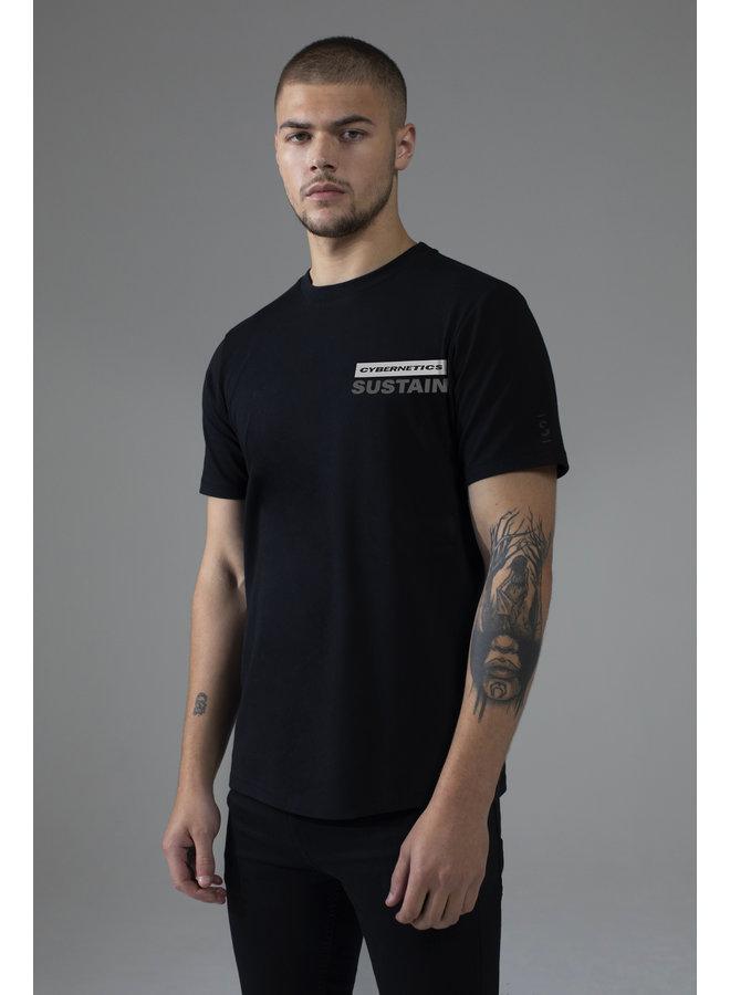 Sustain - Cybernetic Regular T-Shirt Black