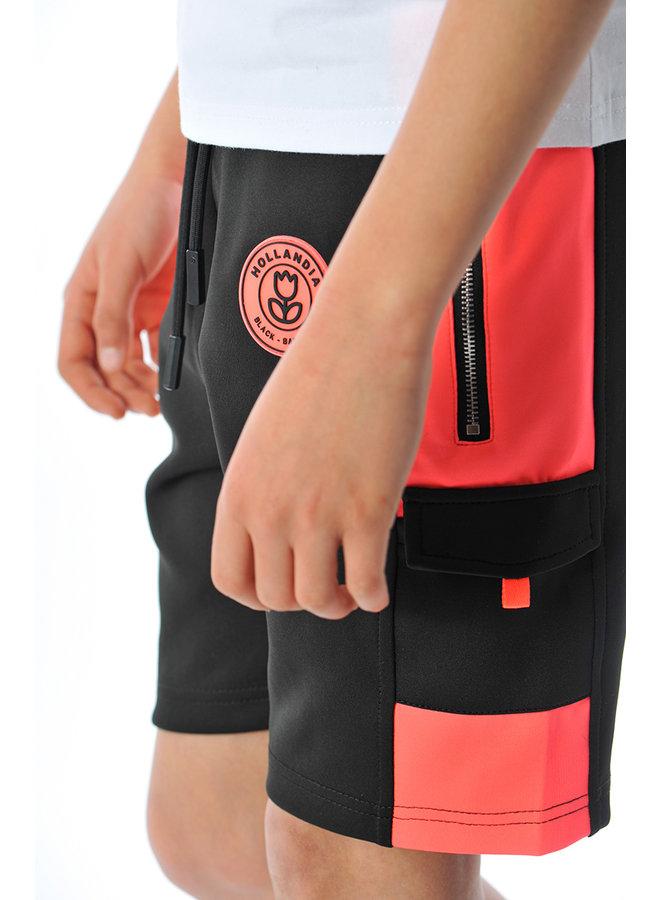 Black Bananas Kids - F.C. Goal Short Black Pink