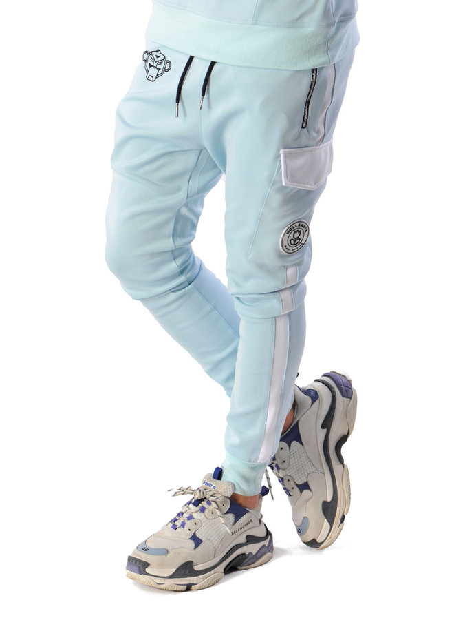 Black Bananas - Collar Tracksuit Light Blue