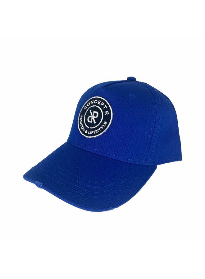 Concept R - Damaged Cap Royal Blue White