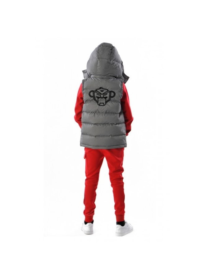 Black Bananas Kids - F.C. Bodywarmer  Grey