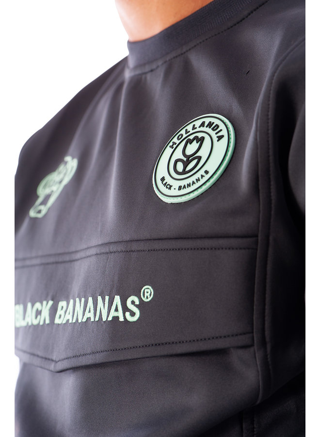 Black Bananas - Anorak Crewneck Tracksuit Grey