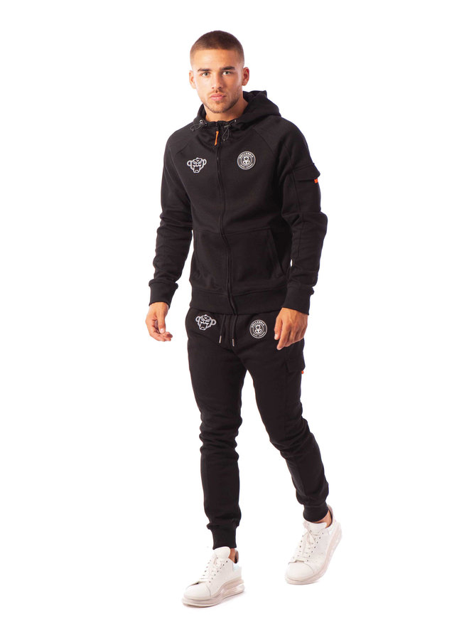Black Bananas - Striker Tracksuit Black