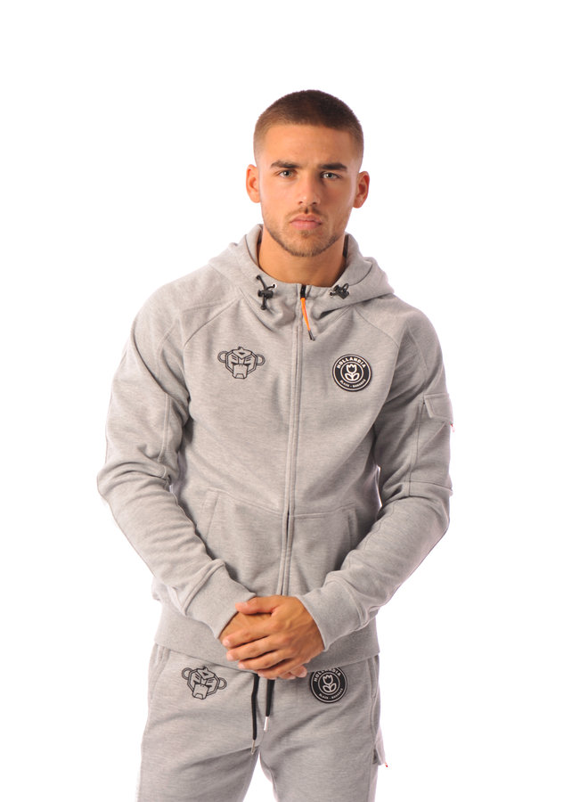 Black Bananas - Striker Tracksuit Grey
