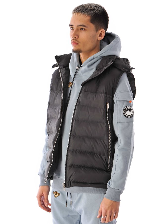 Black Bananas - Block Bodywarmer Black