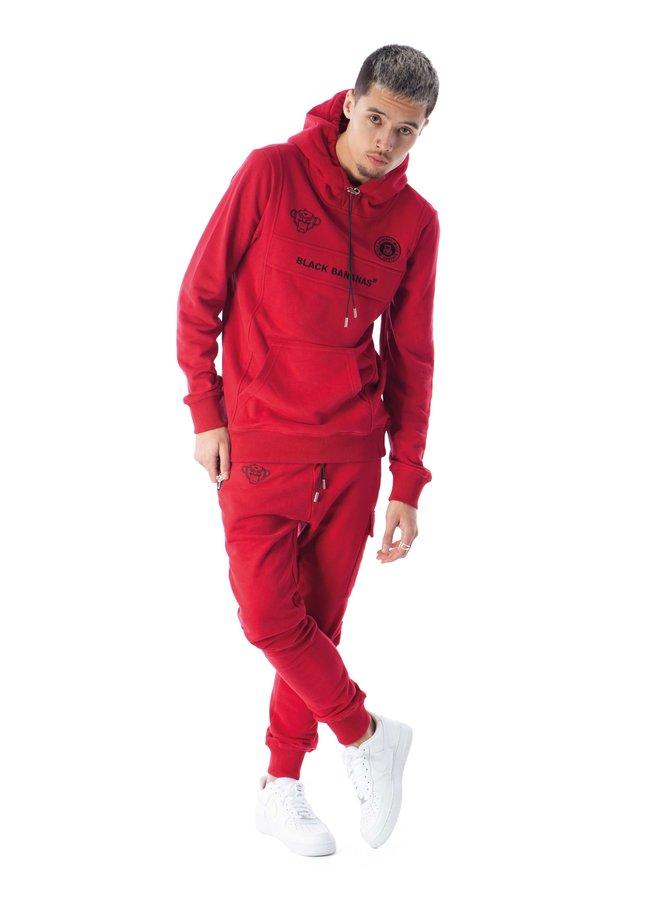 Black Bananas - Anorak Style Hoody Red