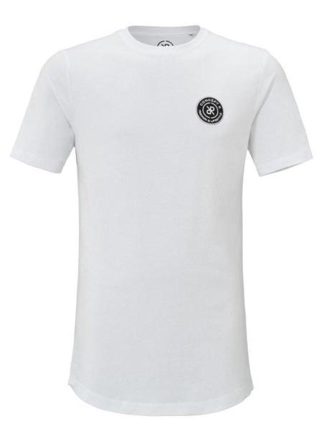 Concept R Kids - Brand Shirt Logo White Black