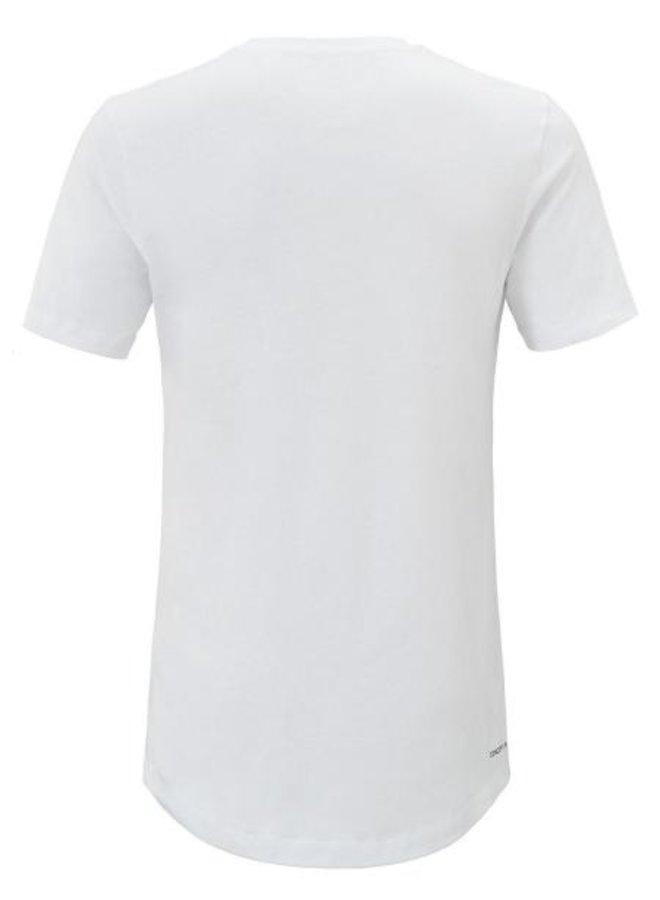 Concept R Kids - Brand Shirt Log White Black