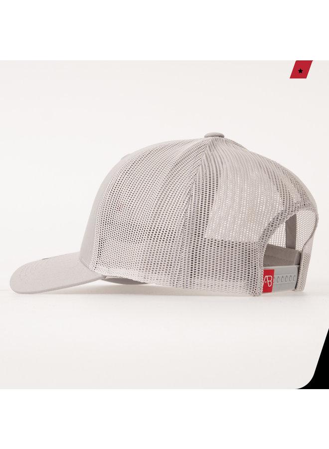 AB Lifestyle - AB Retro Trucker Cap Silver
