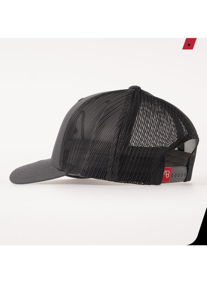 AB Lifestyle - AB Retro Trucker Cap Dark Grey