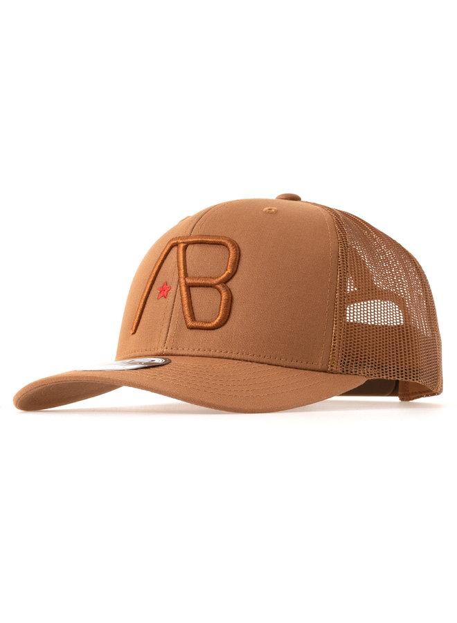 AB Lifestyle - AB Retro Trucker Cap Caramel